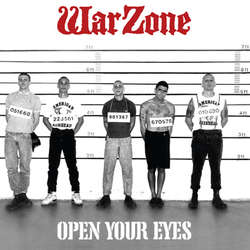 WARZONE Open Your Eyes LP