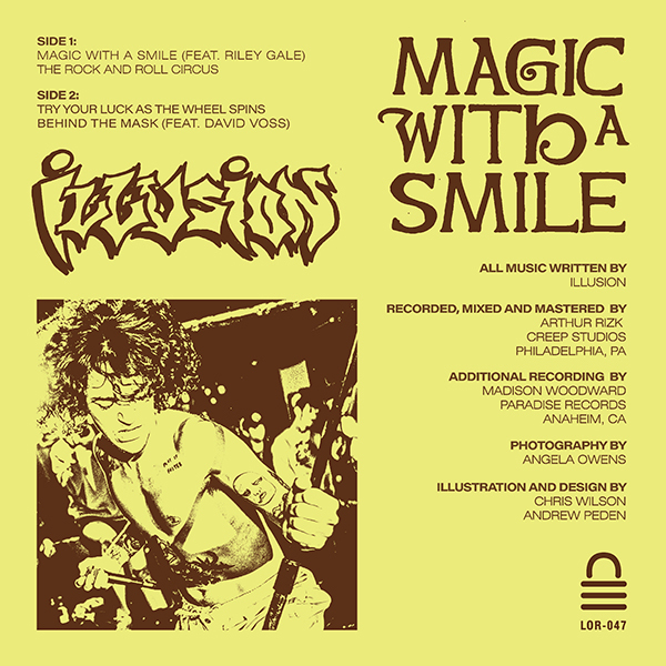 ILLUSION Magic With A Smile 7""